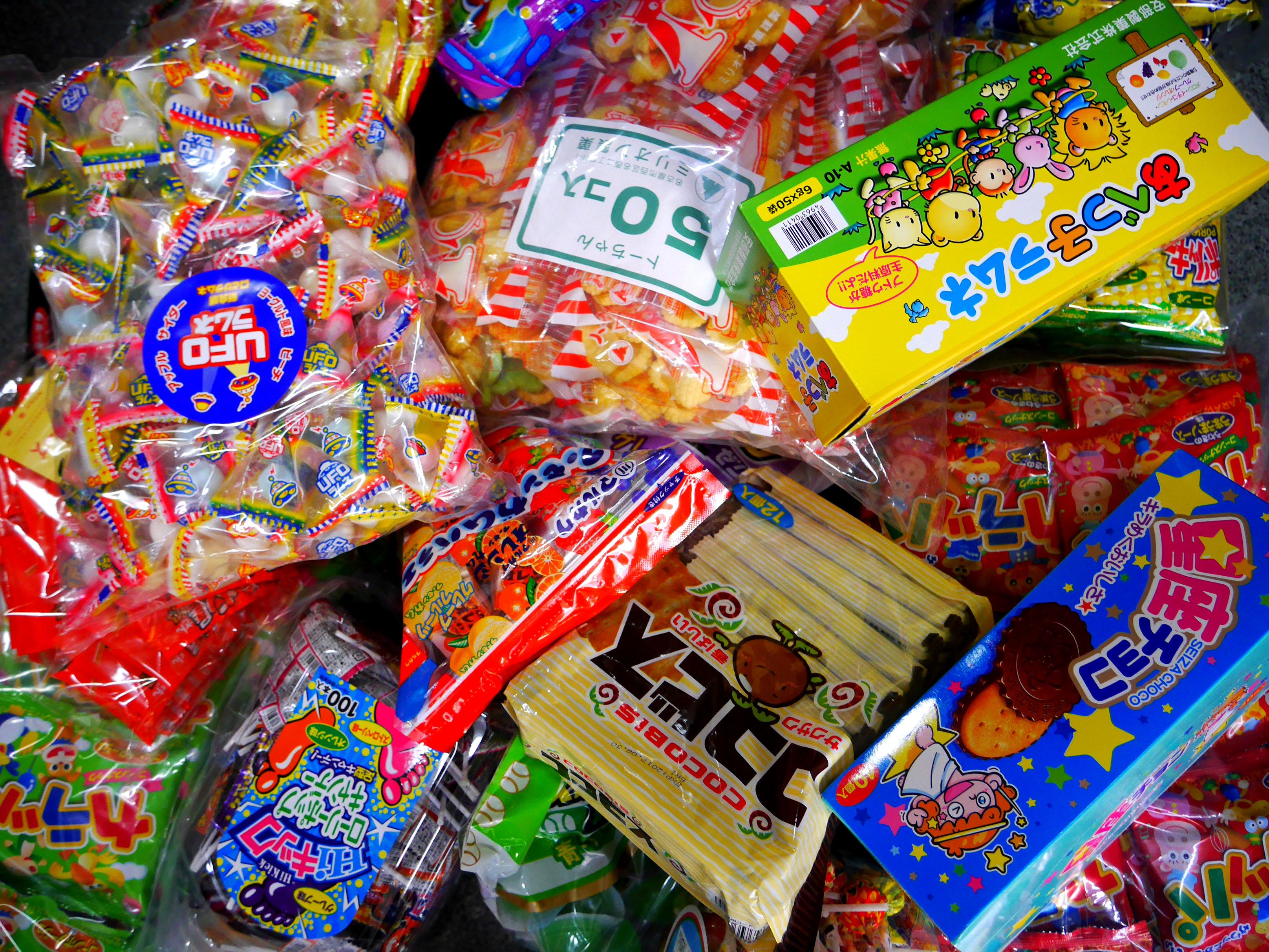 菓子いろいろセット 3000円