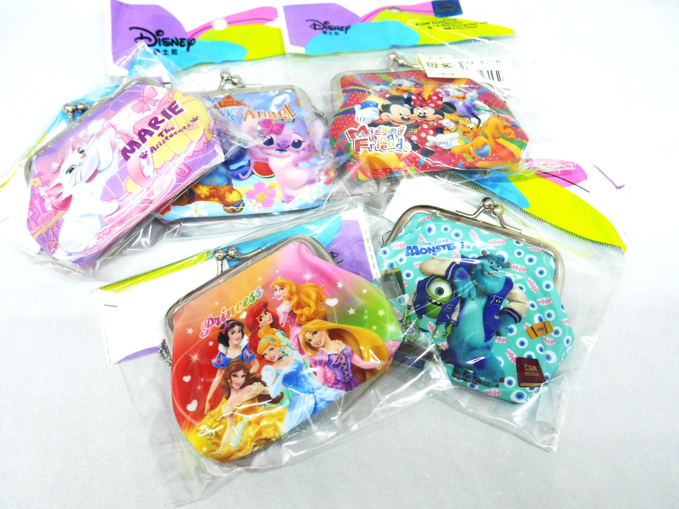 【ディズニーオールスターがまぐち】 おもちゃ・駄菓子卸問屋