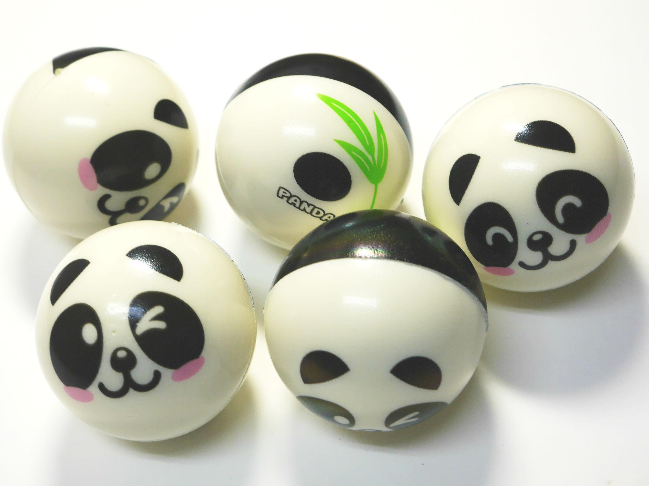 パンダのお顔がころころ ゴロゴロ 5㎝ぐらいのかわいいボールです