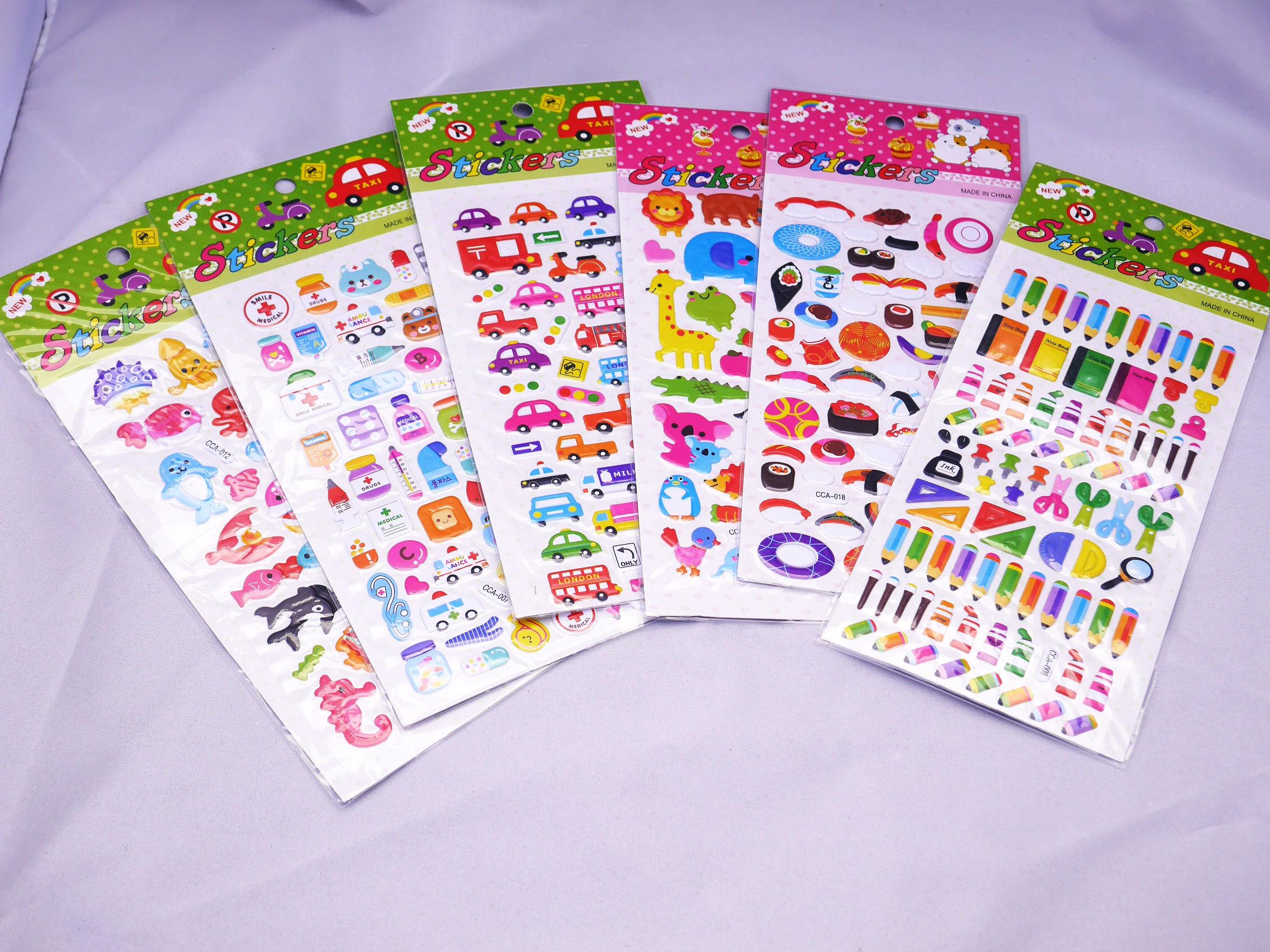 メモ帳やカレンダーに目印として貼ったり鞄や筆箱に貼って可愛くデコレーションも出来ちゃう