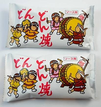 懐かしい駄菓子の定番どんどん焼き ソース味の小粒あられが子供から大人まで幅広い年代層に支持されています。大量・即日発送可