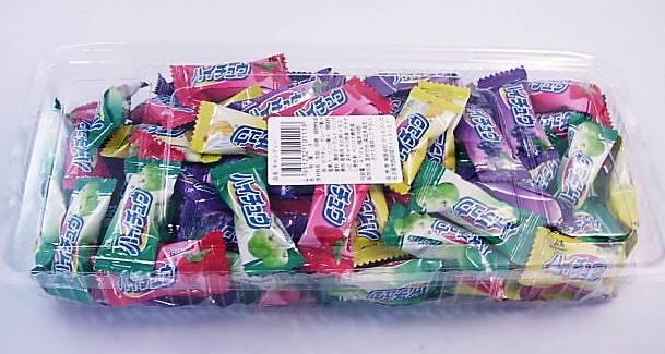 森永 ハイチュウ 100個 入りです。糖分補給に!つかみ取りやお客様サービスに最適です