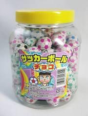 通販/サッカーボールチョコ  12円×100個入り 駄菓子 【業務用駄菓子】