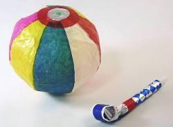 紙風船 吹き戻しセット赤ちゃんのおもちゃや 外国へのお土産として購入の方が最近は多いです