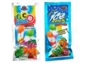 アイススティックキャンディ 60本入  きれいなメタリック調のパッケージに個包装されているのでお客様配布やお菓子袋詰めなどに人気