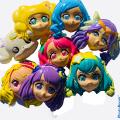 過去の女の子のアニメキャラクターお面を特価で販売 景品や配布・ディスプレーにコスパ最高