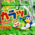 カラッパ コーンポタージュ 40入袋入りの子供に人気のスナックの駄菓子です