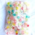 星の形のキャンディー ストロベリー・ピーチ・オレンジ・レモン・サイダー・メロンとフルーティーな味が一袋にいっぱい♪
