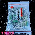 ご年配者の駄菓子五家宝 何とも縁起が良さそうな商品です。埼玉熊谷の銘菓