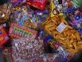 お菓子オタマすくいセット 細かいお菓子がいっぱい