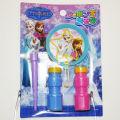 アナと雪の女王シャボン玉遊び