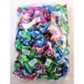 大玉バブルキャンディ 1kg 大袋入りバブルボールはメタリックカラーパッケージがカワイイっ お店配布用に最適です。
