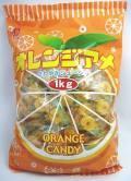 オレンジアメはパインキャンディーと並び昔からなじみのあるオレンジキャンディです配布やつかみ取りに最適です