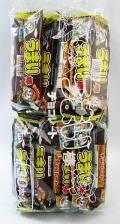 うまい棒チョコ  サクサクコーンの上にチョコレート 人気ナンバー1です