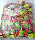 フルーツキャンディおしゃれなパッケージのフルーツキャンデイ つかみ取りや菓子まきなどのイベントに最適です 大量に即日欲しい方に