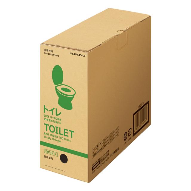 コクヨ 非常用袋式トイレ 100回分