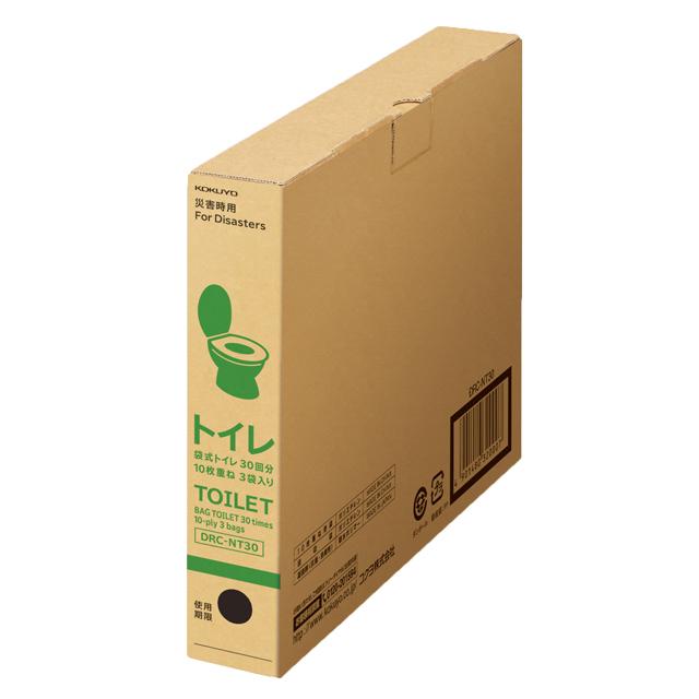 コクヨ 非常用袋式トイレ DRC-NT30
