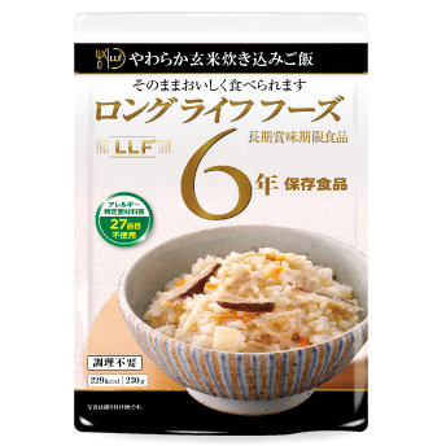 LLF やわらか玄米炊き込みご飯
