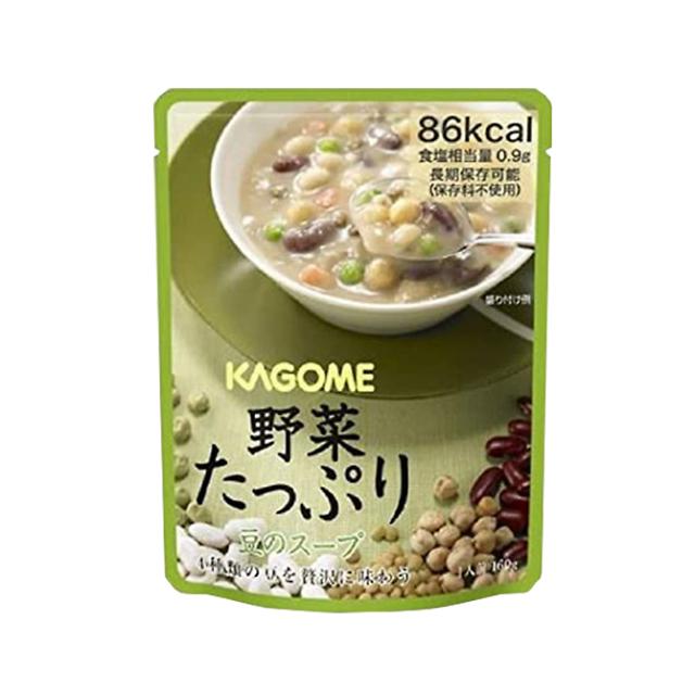 野菜たっぷりスープ 豆
