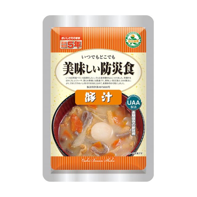 美味し防災食 豚汁