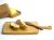 木工作家の冨田聡子の工房COCO(工房ココ)桜のまな板木製カッティングボード(木工作家:冨田聡子のハンドメイド作品)