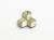 真鍮のフタガミ箸置き