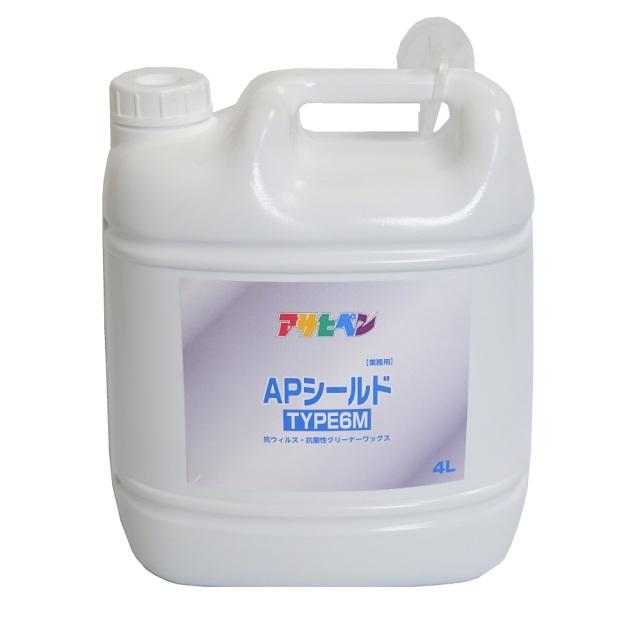 アサヒペン APシールド 4L① コロナ ウイルス ウィルス 飛沫 対策