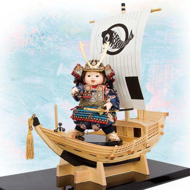 壹三(いちぞう)作  千石船セット「翔」浅葱糸威之鎧
