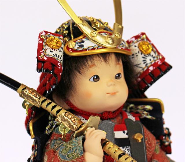 壹三(いちぞう)作 蓮ren赤糸威胴丸鎧/上半身