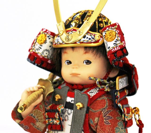 壹三(いちぞう)作 凛rin赤糸威胴丸鎧/上半身