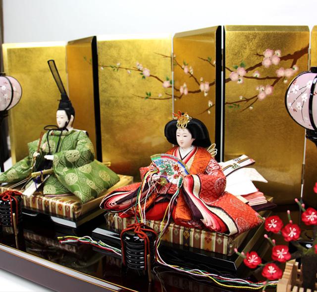 望月龍翠親王飾りセット162301-img
