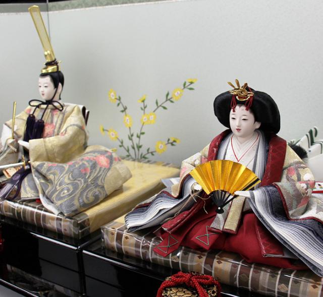 清水久遊作親王飾りセット163002A-00