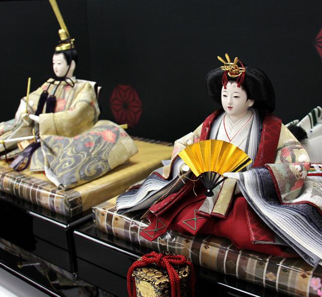 清水久遊作親王飾りセット163003A-00