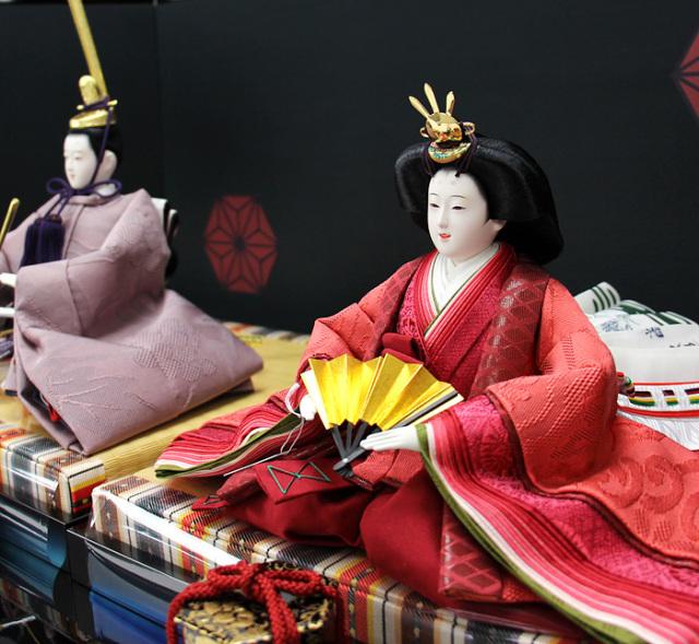 清水久遊作親王飾りセット163003B-00