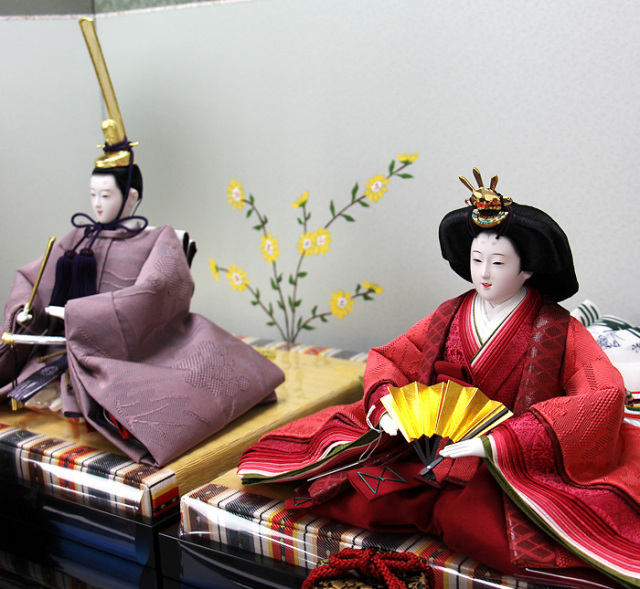 清水久遊作親王飾りセット1633002B