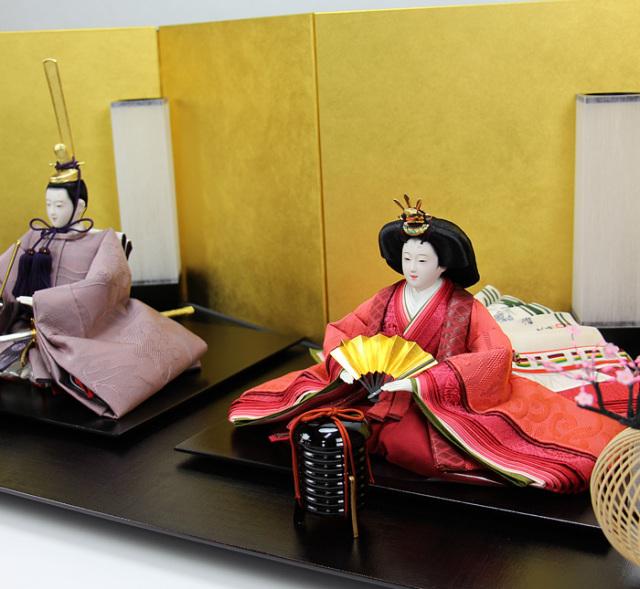 清水久遊作親王飾りセット163302-00