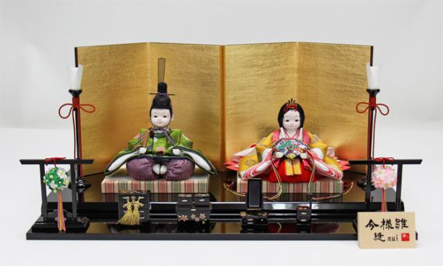 雛人形 今様雛 縫nui /衣裳着親王飾りG(お顔 ゆめ)