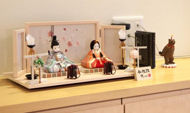 雛人形 今様雛 縫nui /木目込み親王飾りB(お顔 ゆめ)