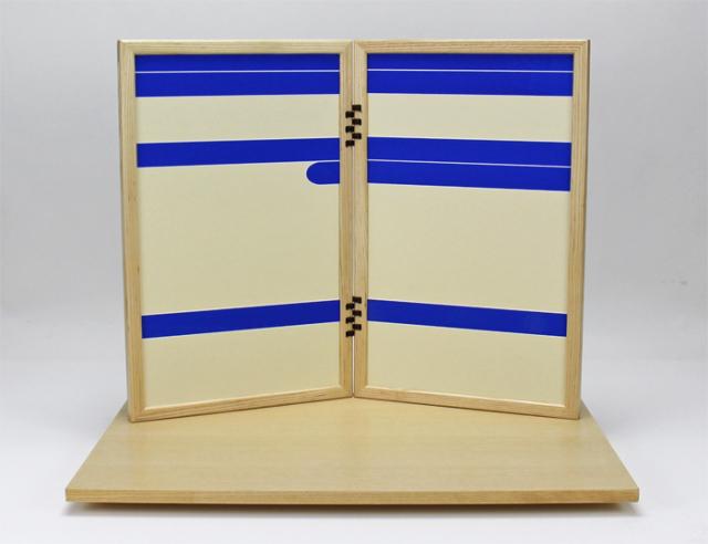 KAGURA銀、飾り台屏風