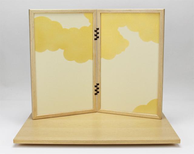 KAGURA金、飾り台屏風