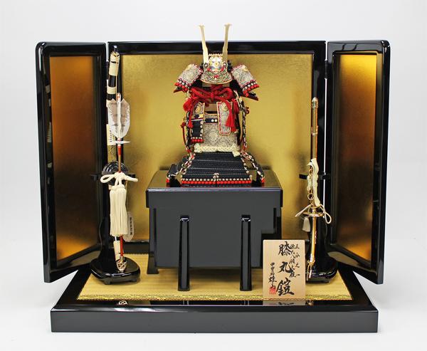 鈴甲子 雄山作 1/5 本仕立て源氏八領鎧/『膝丸鎧』平飾りセット