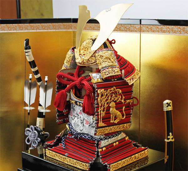 鈴甲子雄山作 1/4スケール国宝模写竹雀之大鎧セット