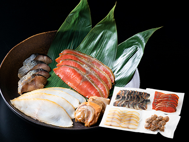 魚介燻製4種