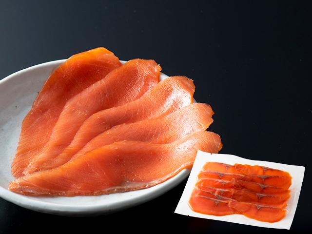 紅鮭スモークサーモン 100g×3袋