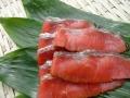 【数量限定】 紅鮭温燻スライス 100g×5袋
