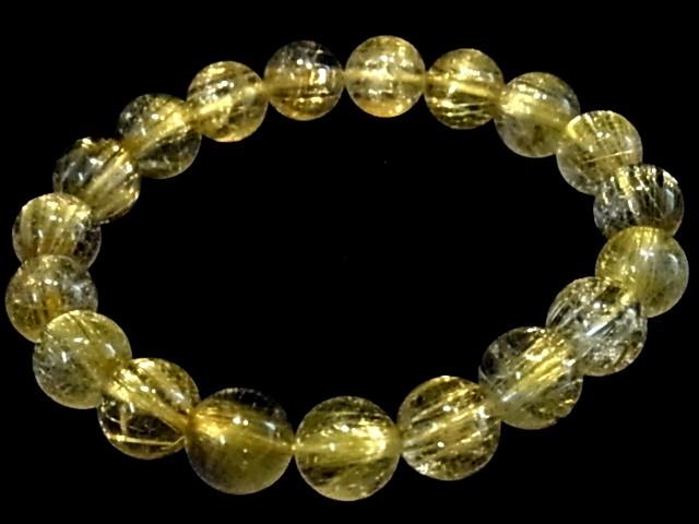 【特価】ゴールドルチル10mm珠