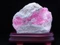 インカローズ原石 【透明感のあるラズベリーピンクが艶やかで手のひらサイズは稀少】