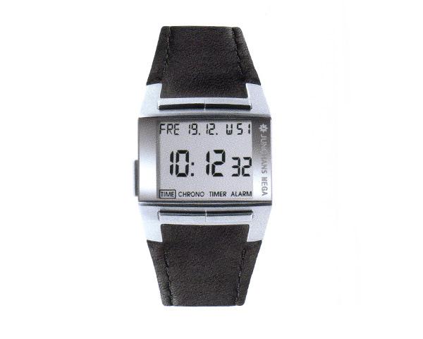 デジタル電波時計-MEGA1000