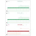 PCA PA5302 納品書 【単票】(納控+納+受領)