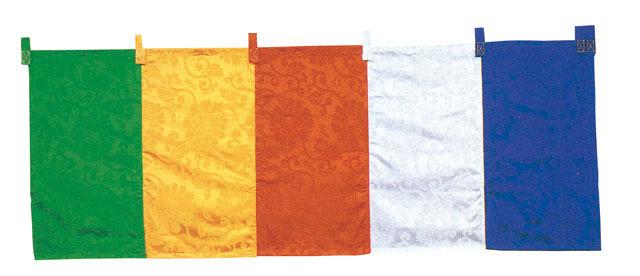 五色幕 テトロン緞子(5尺垂)2間につき